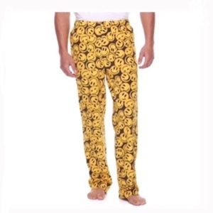 Other - Men's smiley face patterned lounge pants